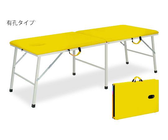 有孔トライ 幅40×長さ180×高さ40cm イエロー TB-252U