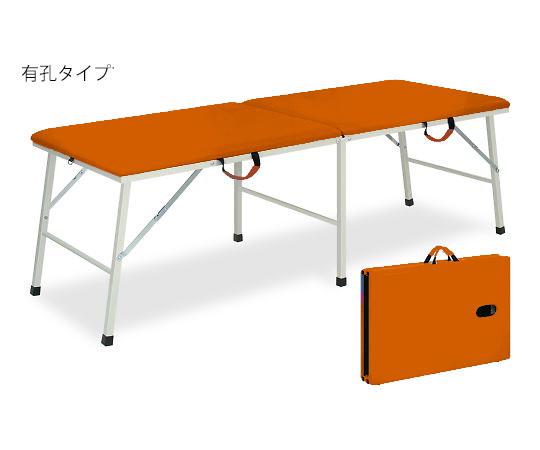 有孔トライ 幅40×長さ180×高さ40cm オレンジ TB-252U