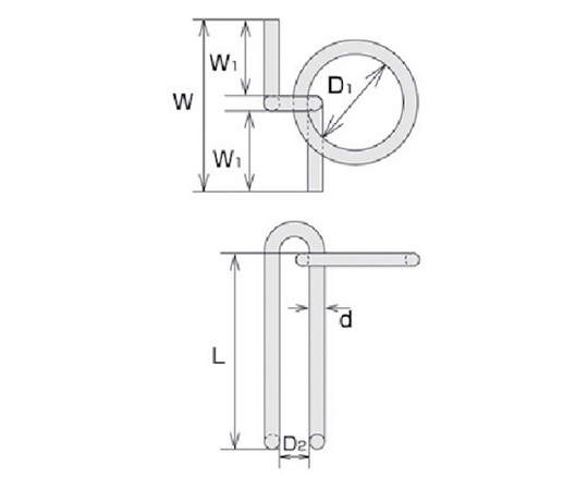 ステンレス 係船環MZ型 リング内径120mm  MZ16