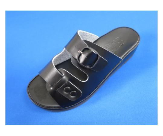 コンフィーウオークナースサンダル 黒 L  901-BK-L