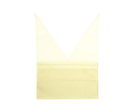 [取扱停止]不織布袋 Fバッグ おつつみ袋 イエロー 10枚  008739941