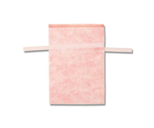 不織布巾着袋 Fバッグ Wシャンテタイプ L ライトピンク 10枚  008739978