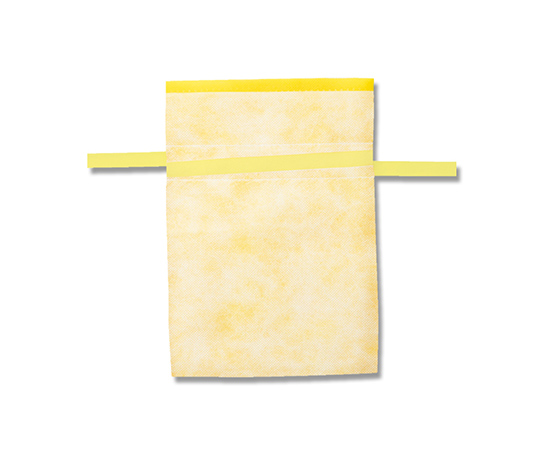 [取扱停止]不織布巾着袋 Fバッグ Wシャンテタイプ L イエロー 10枚  008739980