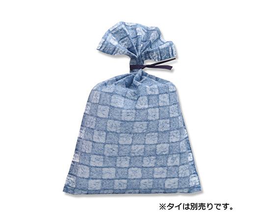 [取扱停止]不織布製袋 落水バッグ いちまつ M 5 あいいろ 20枚  008701965