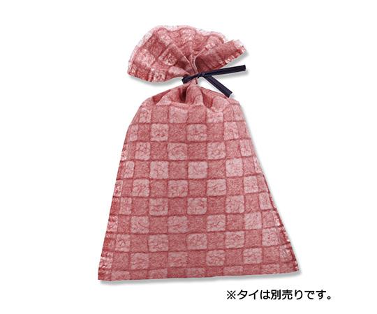 [取扱停止]不織布製袋 落水バッグ いちまつ M 6 えんじ 20枚  008701966