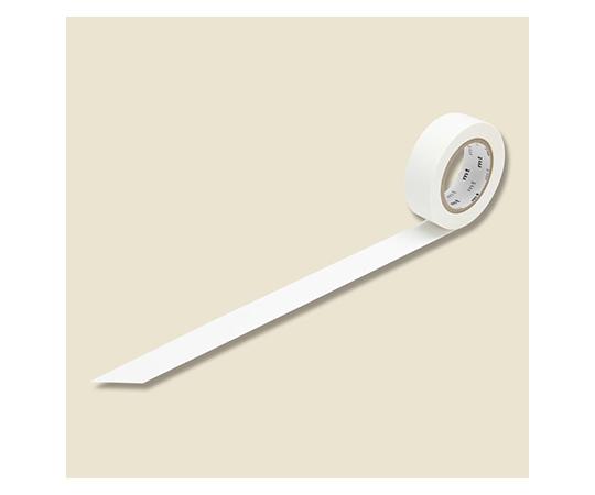[取扱停止]マスキングテープ(mt) 15mm×10m巻 マットホワイト 1巻  001603521