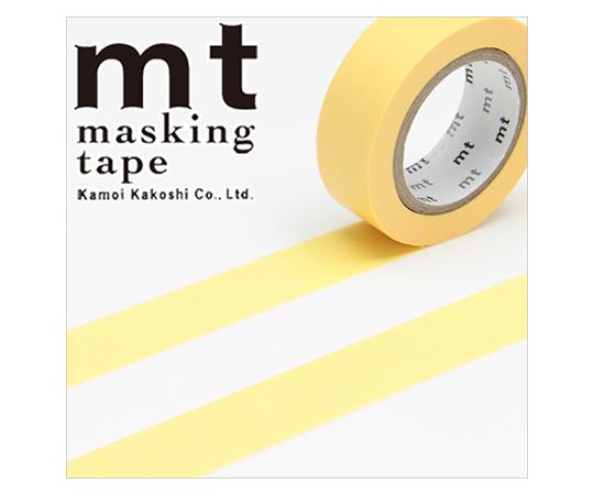 [取扱停止]マスキングテープ(mt) 15mm×10m巻 たまご 1巻  001603506
