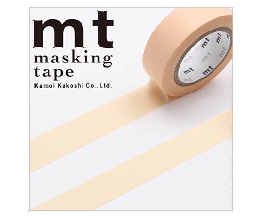 [取扱停止]マスキングテープ(mt) 15mm×10m巻 パステルオレンジ 1巻  001603836