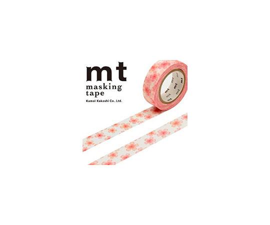 [取扱停止]マスキングテープ(mt) 15mm×10m巻 さくら 1巻  001603613