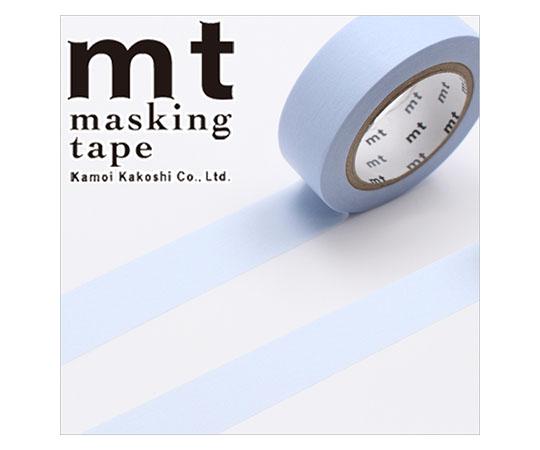 [取扱停止]マスキングテープ(mt) 15mm×10m巻 パステルブルー 1巻  001603840