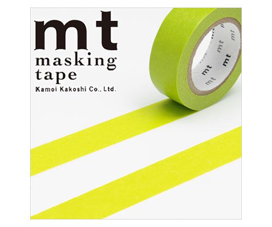 [取扱停止]マスキングテープ(mt) 15mm×10m巻 若苗(わかなえ) 1巻  001603502