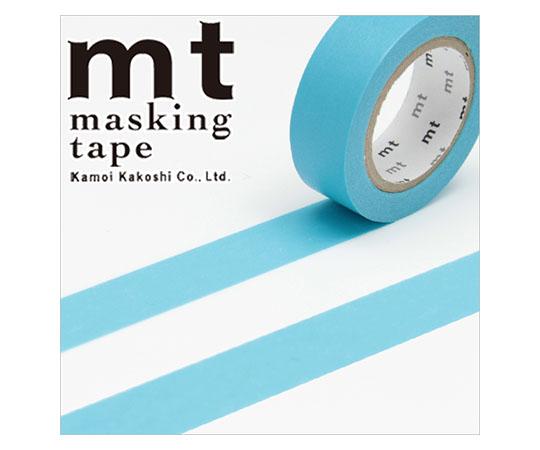 [取扱停止]マスキングテープ(mt) 15mm×10m巻 みず 1巻  001603505