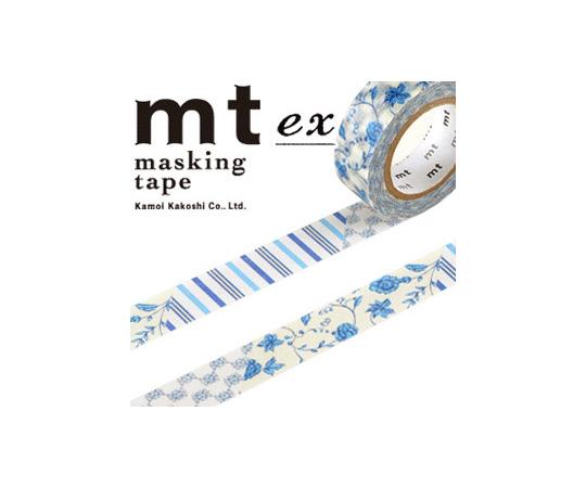 [取扱停止]マスキングテープ(mt) 15mm×10m巻 FlowerDB R 1巻  001603267