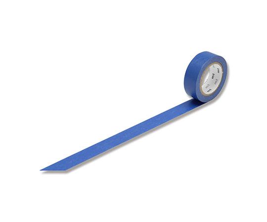 [取扱停止]マスキングテープ(mt) 15mm×10m巻 瑠璃 1巻  001603510