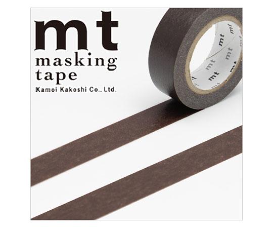 [取扱停止]マスキングテープ(mt) 15mm×10m巻 ココア 1巻  001603516