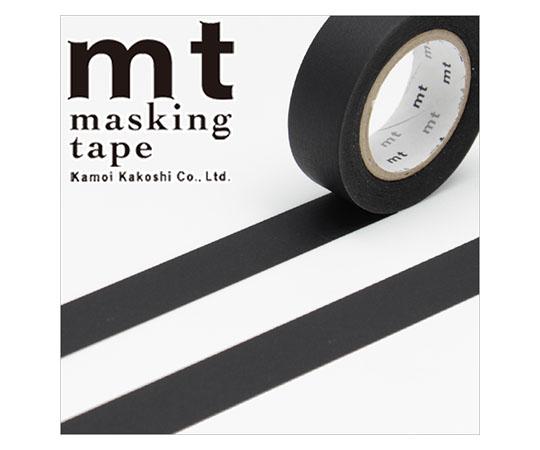 [取扱停止]マスキングテープ(mt) 15mm×10m巻 マットブラック 1巻  001603520