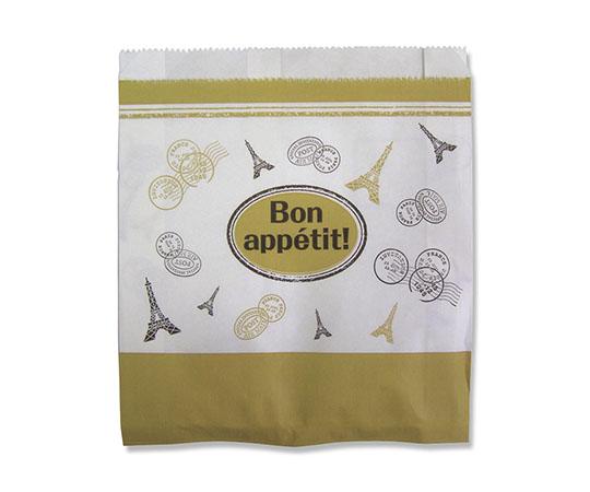 [取扱停止]耐油ガゼット袋 L ボナペティ 24枚  007326439