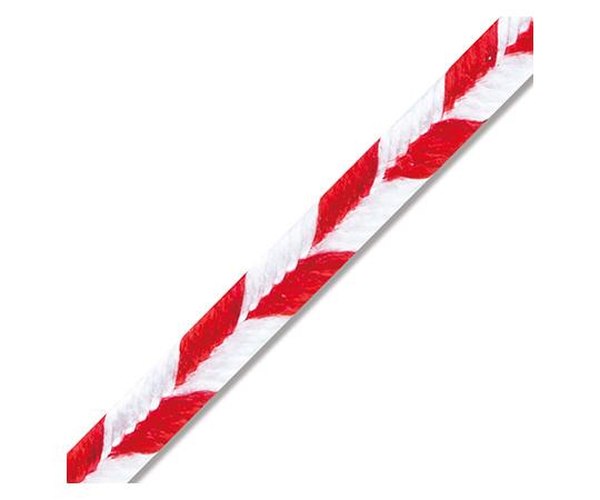[取扱停止]矢羽タイ 3mm幅×12cm 赤白 20本入  001444902