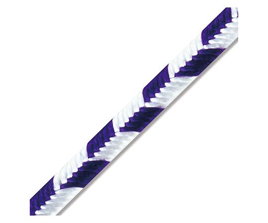 [取扱停止]矢羽タイ 3mm幅×12cm 紫白 20本入  001444903
