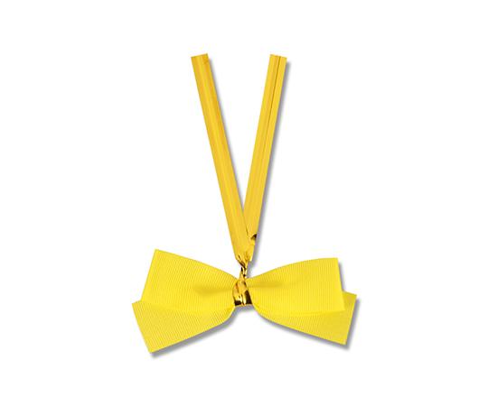 クイックリボン 約50mm×60mm(リボン巾12mm) レモン 20個入り  001423515