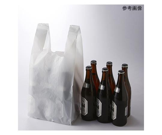 [取扱停止]レジ袋 ハンドハイパー ビール6本用 100枚  006641908