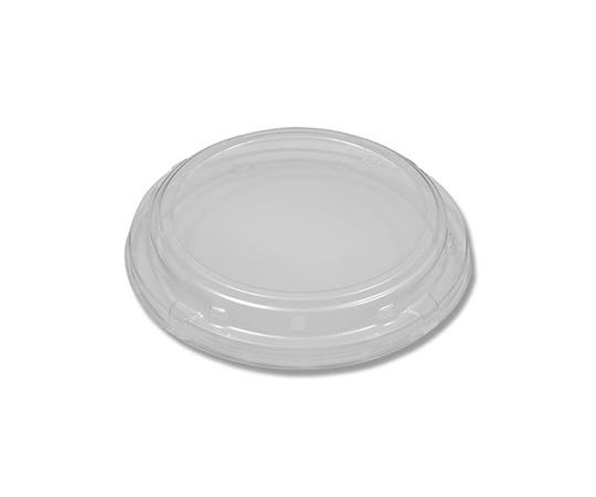 [取扱停止]食品容器 ふぁるかたぼっくす 丸 148 透明フタ 100個  004250014
