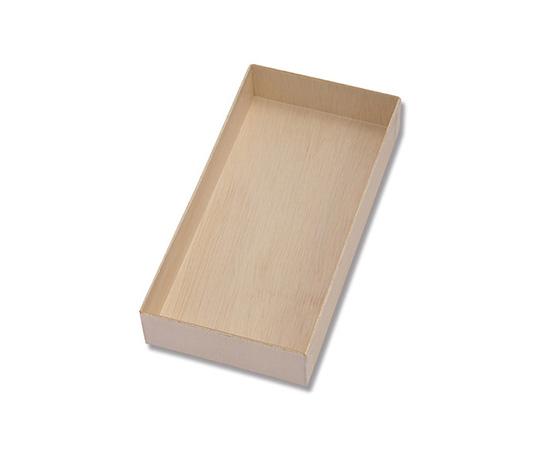 [取扱停止]食品容器 ふぁるかたぼっくす 8寸 111×223 本体 50個  004250026