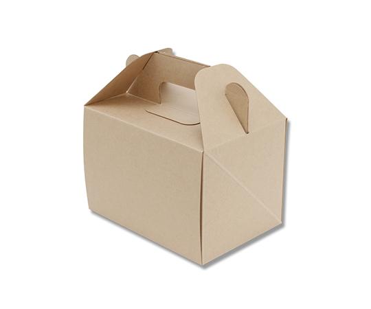 食品容器 ネオクラフトボックス キャリーボックス S 20枚  004248011