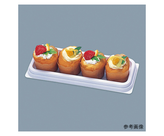 [取扱停止]食品容器 Fパレ 本体 50枚  004450091