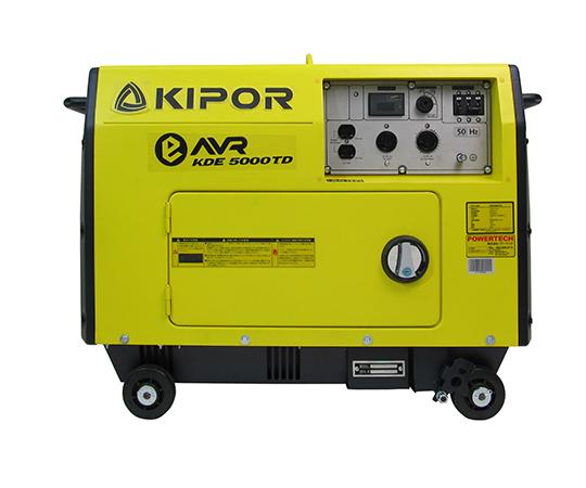KIPOR ディーゼルエンジン発電機  KDE5000TD 50Hz