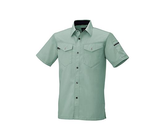 半袖シャツ アースグリーン  6806-23-L