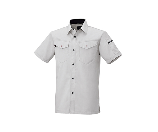 半袖シャツ シルバーグレー  6806-61-5L