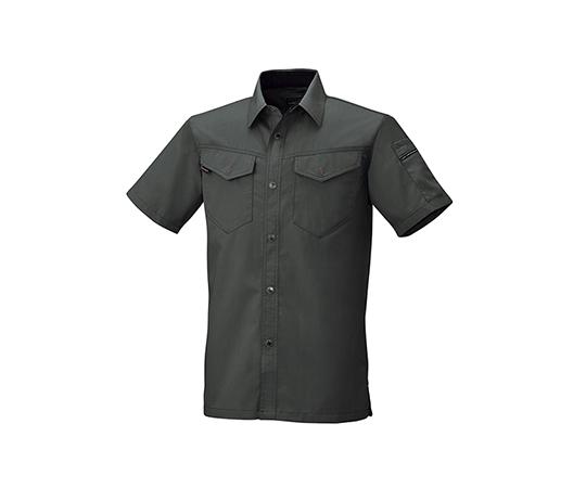 半袖シャツ ダークグレー  6806-68-M