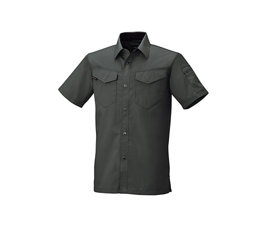 半袖シャツ ダークグレー  6806-68-LL