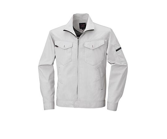 長袖ジャケット シルバーグレー  6807-61-LL