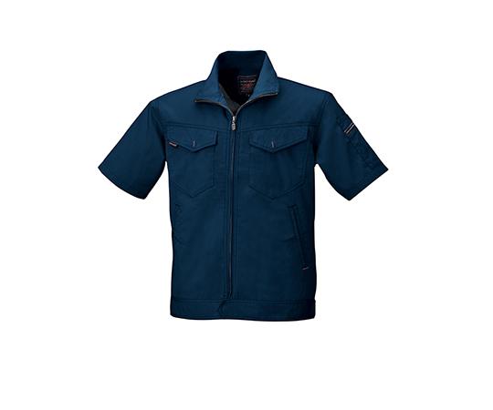 半袖ジャケット ネイビー  6808-56-5L