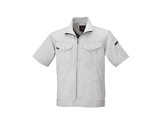 半袖ジャケット シルバーグレー  6808-61-LL