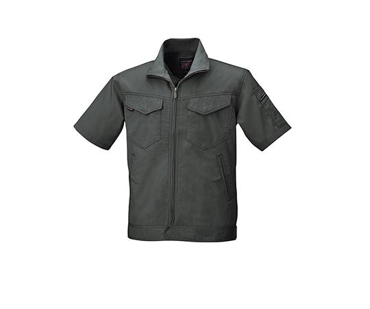 半袖ジャケット ダークグレー  6808-68-LL