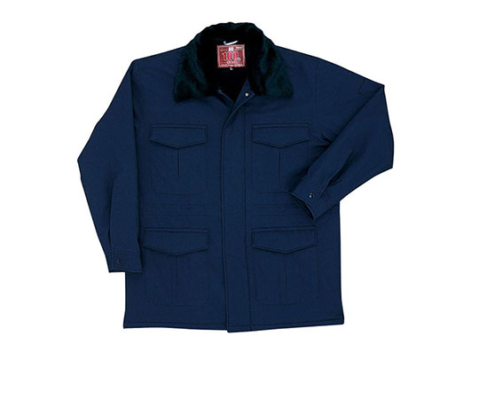 防寒コート ネイビー  7125-55-EL