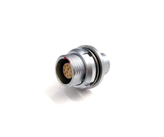 プッシュプル・小型・丸型・耐熱性 気密ソケット Bシリーズ  HEG.0B.304.CLLPV