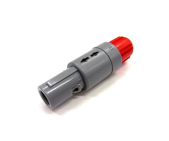 プッシュプル 丸型 小型プラスチックコネクタ ストレーツプラグ REDEL Pシリーズ  PAA.M0.6GL.AC52G