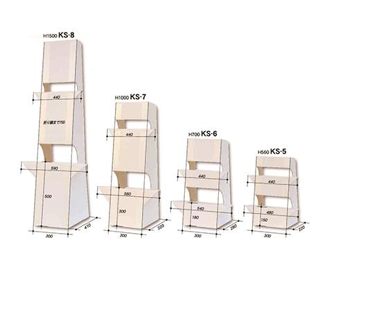 大型紙スタンド(等身大等の縦型サイズ対応) 1枚入  KS-8