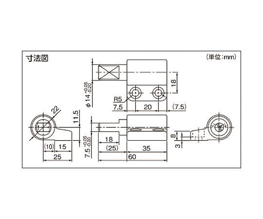 ロータリーダンパ TD27/TD28 TD27B1-10/20K