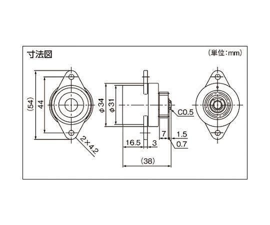ロータリーダンパ TD58 TD58L1-8K