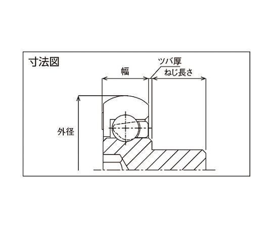 樹脂ベアリング DO-B-JH DO-28-B0.5-JH