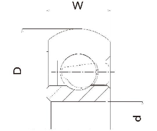 樹脂ベアリング DO-H DO-26-H6