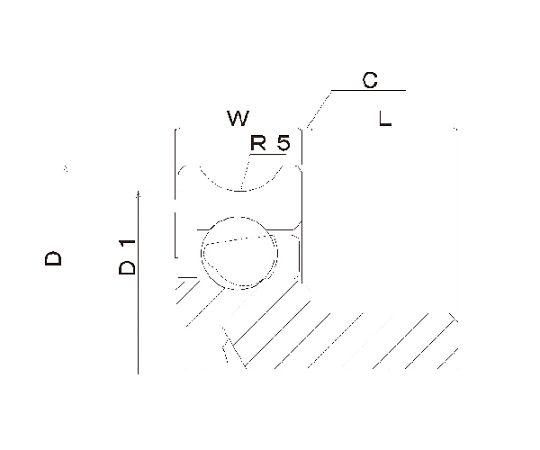 樹脂ベアリング DU-B-JH DU-30-B0.5-JH
