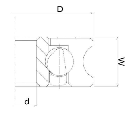 樹脂ベアリング DU-H DU-26-H6