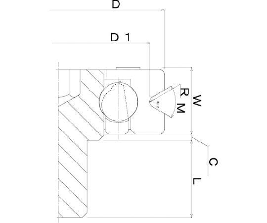 樹脂ベアリング DV-B-JH DV-30-B0.5-JH