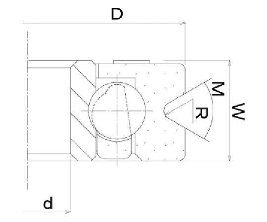 樹脂ベアリング DV-H DV-22-H6-M